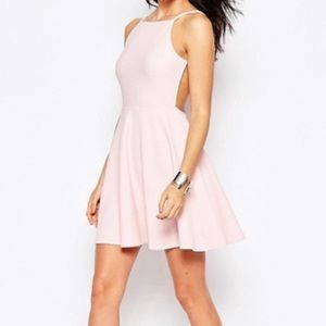 Urban outfitters blush pink sun dress